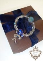 Елегантна гривна със Swarovski кристали Heaven