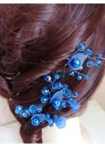Абитуриентски фуркети за коса ръчна изработка - A little piece of heaven
