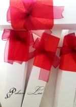 Дизайнерска покана за юбилей с кутийка модел Carmen