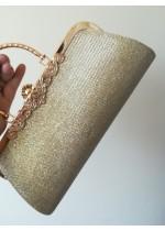 Официална Чанта Златен блясък