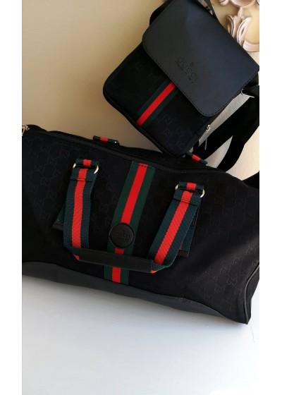 Луксозен Комплект сак и чанта Gucci за път и всеки ден