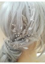 Дизайнерски булчински украси за коса