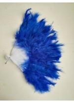 Булчинско ветрило от кралско сини пера